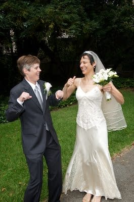 Lesbian Wedding - LGBT Wedding - UC Berkeley Faculty Club - Berkeley Campus