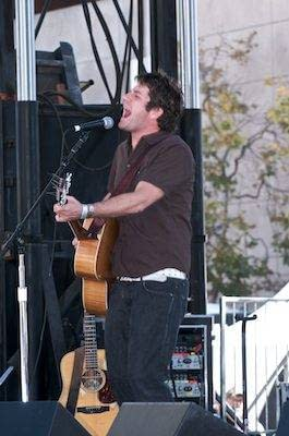 Matt Nathanson performs at Oakland Art and Soul - Oakland Festival