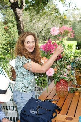 """""""Jill of all trades,"""" Eve helps get things ready for the wedding - Napa Wedding"""