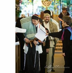 Bar Mitzvah at Kehilla Community Synagogue, Piedmont, CA