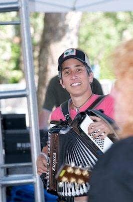 Indigo Girls in Concert - Oakland - Art and Soul Festival - Oakland - Concert Photography